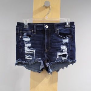 American Eagle Outfitters Shorts - American Eagle Hi Rise Shortie Womens 4 Stretch